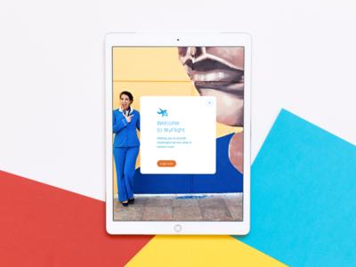 KLM MyFlight app