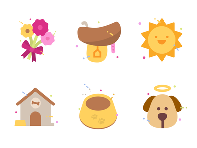Pets Forever stickers #1