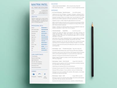 Resume/CV Print Friendly