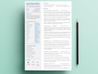 Resume/CV Print Friendly
