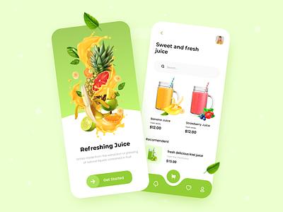 Ui App Mobile Juice juice mobile app design ux ui