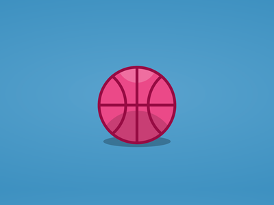 Dribbble animated logo in pure CSS web animation html css dribbble