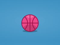 Dribbble animated logo in pure CSS
