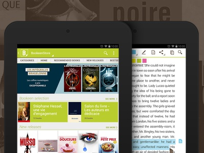 Reading app for tablets bookeen reader app ipad android kindle book ebook
