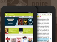 Reading app for tablets