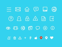 The Social Ammo Icons