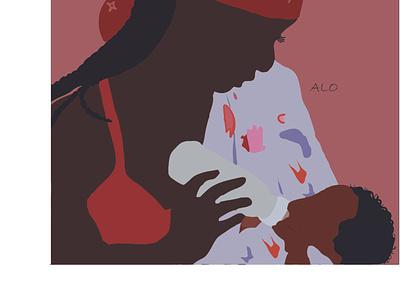 Joys of Motherhood design flat illustration illustration