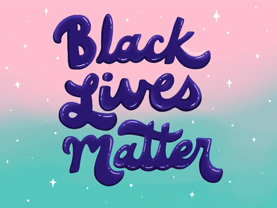 Black Lives Matter graphic design visual design design illustration art illustration illustrator procreate app procreate handlettered handletter handlettering