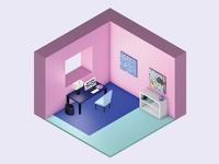 My Isometric Room
