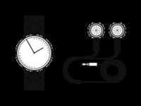 Watch + Earphones