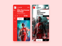NIKE & WE SEE E-Commerce App