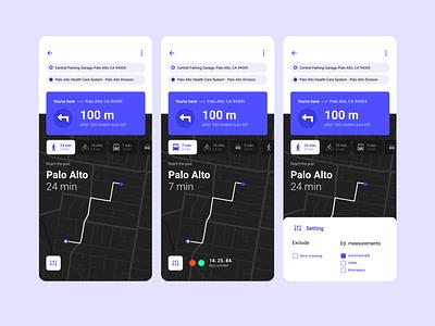 Navigation FIX Pro - Travel & Local App ux design ui designs app design local travel app navigation