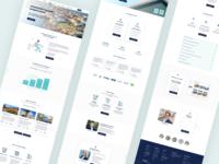 Funding Website Design 💰 loans broker borrowing shares banking investments fintech interface design ux ui