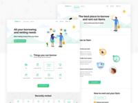 FedeRent Website Design