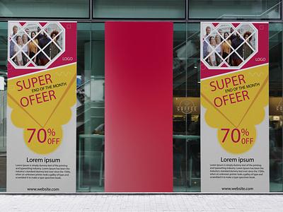 Rollup banner banner ads banner design banner