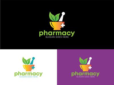 Pharmacy Logo Design logo branding design company logo logo colorful logo logo creation flat logo business logo pharmacy logo design 2021