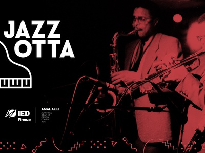 Jazzotta - Jazz Festival Florence pattern branding jazzotta italy florence project piano music jazz