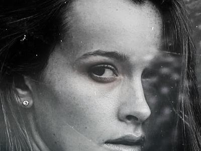 Leila color adobe photoshop eye girl photomanipulation design art