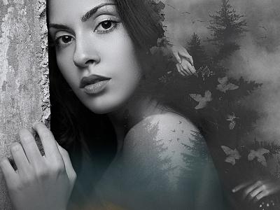 Dilbar's Aria artwork manipulation music photomanipulaiton art design cover