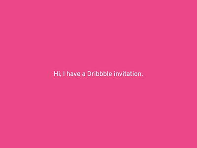 Dribbble Invitation giveaway portfolio player invite contest invitation dribbble