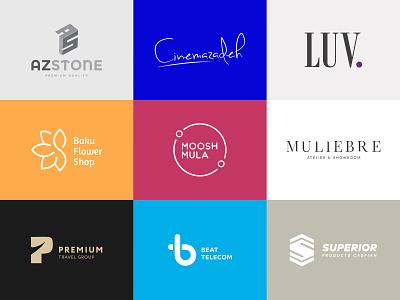 Logofolio 2018 logodesigner minimalism flat typedesign branding typography logofolio logocollection logodesign logo
