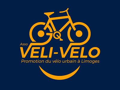 Véli-vélo limoges velo veli-velo association cycling bicycle bike concept redesign design logo