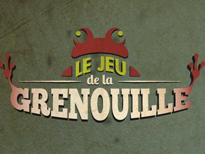 Scénovision | Le jeu de la grenouille retro vintage ui benevent scenovision design logo game frog