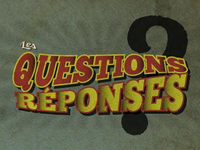 Scénovision | Les questions-réponses