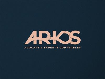 Arkos - Logo Proposal arcs accountant logotype lawyer logo arkos