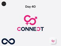 Day 40: Dating app logo