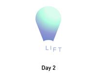 Day 2: Hot air balloon logo