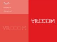 Day 5: Vrooom