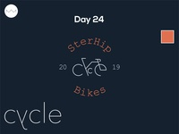 Day 24: Bicycle logo