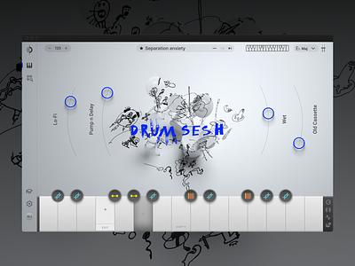 Output Arcade — New navigation navigation product design design agency design studio desktop application ui macos app design music desktop app music software