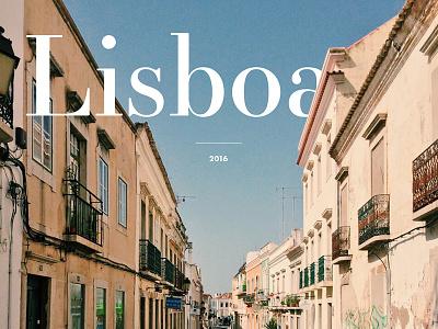 One more cover for photo series serif type photo portugal lisbon lisboa