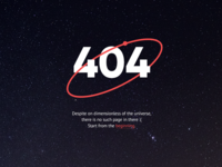 404 page —Pizza Planet