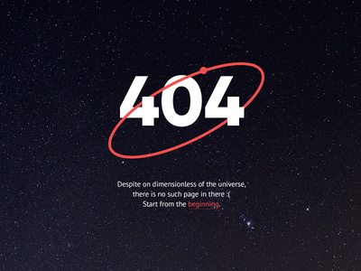 404 page —Pizza Planet error error page 404