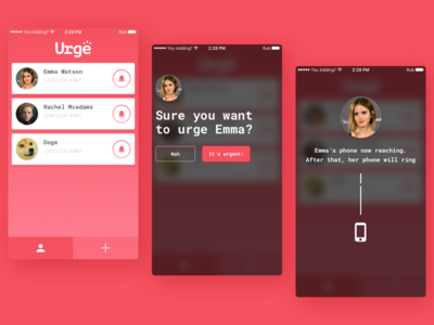 Urge — how it works messages texts urgent message