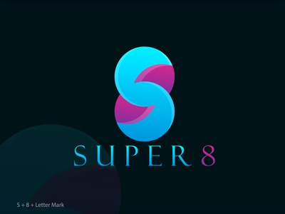 SUPER8 MODERN LOGO icon logo app logo logo folio vector logo minimal logo modern logo modern logo design ui ux design logo illustration vector icon graphic design branding app