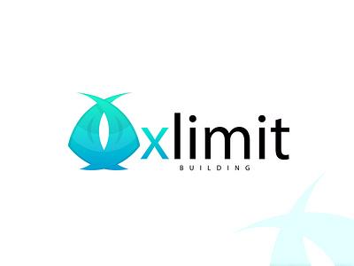XLIMIT BUILDING LOGO logo type logo grid logo concept vector logo vector graphic design logo folio branding  identity brand modernism minimal logo minimal modern logo icon logo icon app logo app logos logo branding