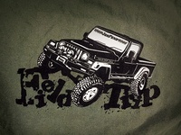 JonFund Field Trip Camp and wheel event shirt