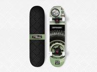 HUE 166 Defender Skateboard
