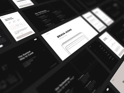 E-commerce Product Page   Lazarev. landing page product design graphic design animation features black illustration 3d motion graphics product clean ecommerce web ux ui design adaptive