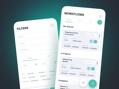 Workflow Design   Lazarev. product clean ux ui manager schedule management project interaction task app workflow web adaptive mobile