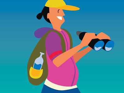 Activities in the resort of Zavidovo golf winch water activities hiking activity illustration