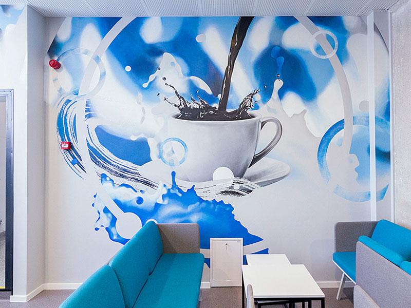 FETSO coffee corner arminasrau plugas acrylic walldecor interior