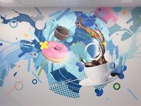 Festo indoor mural