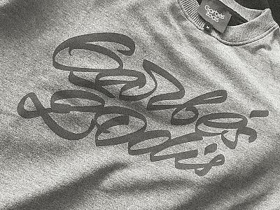 Garbės žodis design lettering kaunas plugas