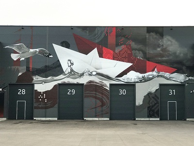 Klaipėda klaipeda walldecor graffiti wallpainting design neomural mural spraypainting lithuania plugas