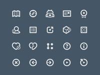 Two Dots UI Icon Set